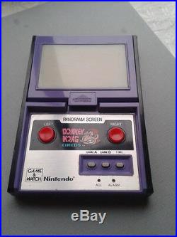 Nintendo Game & Watch Panorama Donkey Kong Circus Mk-96 Extra Fine Condition See