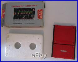Nintendo Game & Watch Panorama Screen Mario's Bombs Away 1983 Made in Japan