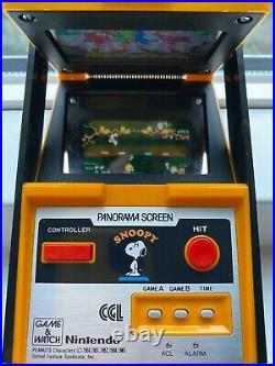 Nintendo Game & Watch Panorama Screen Snoopy original game 1983