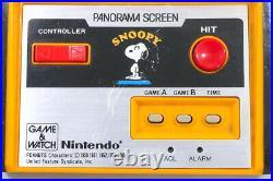 Nintendo Game & Watch Panorama Snoopy SM-91