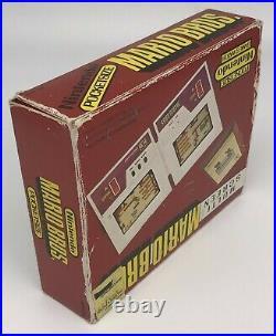 Nintendo Game & Watch Pocketsize Multi Screen Series Mario Bros. MW-56 1983 NOA