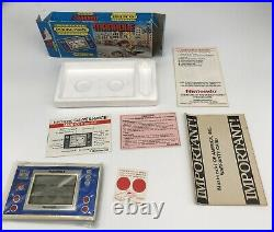 Nintendo Game & Watch Pocketsize New Wide Screen Series Manhole NH-103 1983