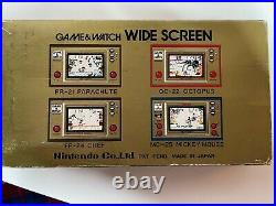 Nintendo Game & Watch Popeye Boxed With Instruction Manual 1981 PP-23