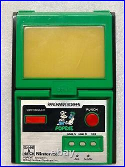 Nintendo Game & Watch Popeye Panorama Series PG-92