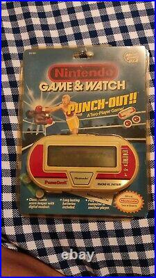 Nintendo Game & Watch Punch Out Boxing Blister Unopened New