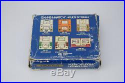 Nintendo Game & Watch Rain Shower Multi Screen LP-57 UK CGL LCD Handheld and