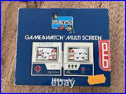 Nintendo Game & Watch Rain Shower near Mint in Box OTO Edition (!)