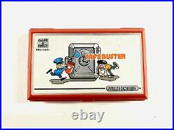 Nintendo Game & Watch Safe Buster BOXED + Manual MINT JB-63- 1988 Tested