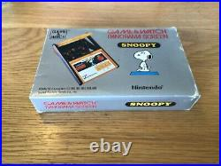 Nintendo Game & Watch Snoopy Panorama Rare And Collectable