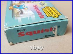 Nintendo Game & Watch Squish Boxed Rare Retro and Vintage 1980's MG-61 (b)