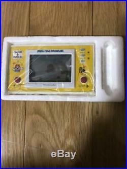 Nintendo Game & Watch Super Mario The Juggler WithBox Very Rare Japan