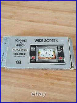 Nintendo Game & Watch Turtle Bridge boxed CGL