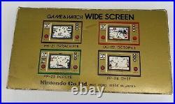 Nintendo Game & Watch Wide Screen EGG EG-26 MIB Mint 1981 RARE matching numbers
