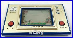 Nintendo Game & Watch Wide Screen Fire (occasion)