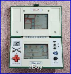Nintendo Game & Watch ZELDA ZL-65 MULTI SCREEN Body Only 1989 Vintage Japan