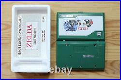 Nintendo Game & Watch Zelda ZL-65 Multi Screen mit OVP NEUWERTIG