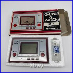 Nintendo Game & Watch console portatile Ball AC-01 versione Giapponese Mint 1980