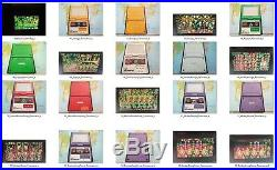Nintendo Game Watch lote de 60 maquinitas diferentes