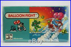 Nintendo Game and Watch Balloon Fight 1st Edition BF-107 Handheld LCD Near Mint