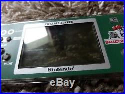Nintendo Game and Watch Crystal Screen Balloon Fight Boxed Game Watch
