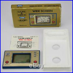 Nintendo Game and & Watch Fire Wide Screen 1st Edition FR-27 LCD Handheld Game