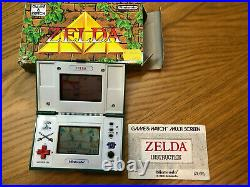 Nintendo Game and Watch Game & Watch ZELDA Boxed ZL-65