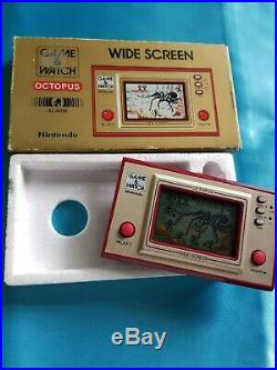 Nintendo Game and Watch OCTOPUS OC-22 Boxed