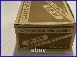 Nintendo Game and Watch SHIPPER Donkey Kong II JR-55 MAKE OFFER
