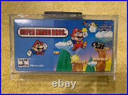 Nintendo Game and Watch Super Mario Bros MINT! Boxed! 1988 Vintage 80s