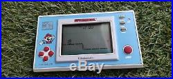 Nintendo Game and Watch Super Mario Bros Vintage 1988 Electronic LCD Game