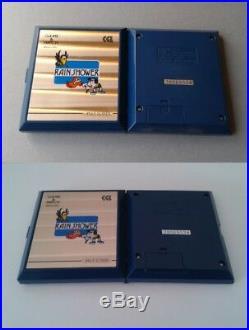 Nintendo Game&watch Multiscreen Rain Shower Lp-57 Complete In Box Cib Rare+++