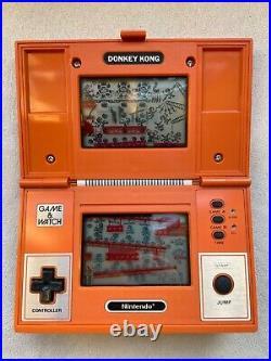 Nintendo LCD Game & Watch Multi Screen Donkey Kong DK-52 1982
