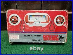 Nintendo Micro vs. System Boxing BX-301 1984 CIB Complete in Box