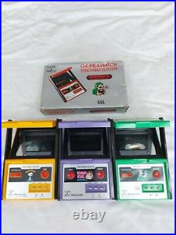 Nintendo Panorama Game And Watch Joblot
