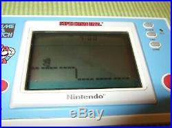 Nintendo SUPER MARIO BROS. Game & Watch Original Contents YM-105 Box Styrofoam