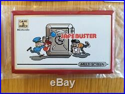 Nintendo Safebuster Pocketsize Game & Watch 1988 LCD Electronic Game Boxed