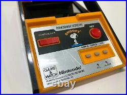 Nintendo Snoopy Game and watch Panorama Screen Working