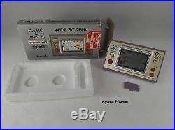 Nintendo Snoopy Tennis Game & Watch Console Handheld LCD Screen Boxato Boxed