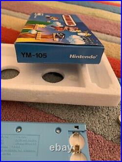 Nintendo Super Mario Bros 1980s Lcd Game And Watch YM-105, Mint Boxed