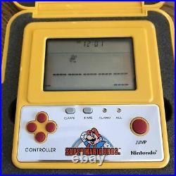 Nintendo Super Mario Bros Game Watch Famicom Grand prix F1 Racing Prize YM-901
