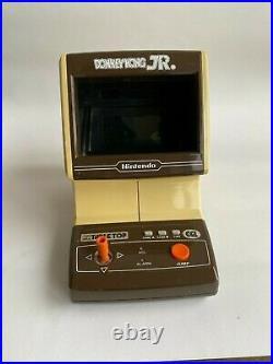 Nintendo Table Top Donkey Kong Jr Game And Watch Vintage 1983 Game CJ-71 Rare