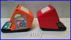Nintendo Tabletop Watch LOT of 2 (Donkey Kong Jr. & Mario's Cement Factory)