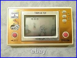 Nintendo Tropical Fish Game & Watch Handheld Console LCD Screen Originale