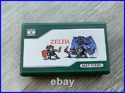 Nintendo Zelda Game & Watch ZL-65 Boxed instructions Vintage 1989 Stickers