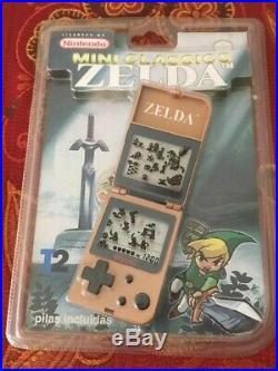Nintendo Zelda Mini Classics Game & Watch 1998 SEALED FREE SHIPPING