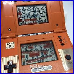 Nintendo donkey kong game and watch MINT Condition Unmarked