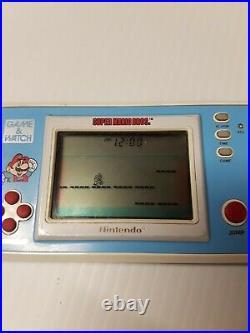Nintendo game and watch Super Mario Bros