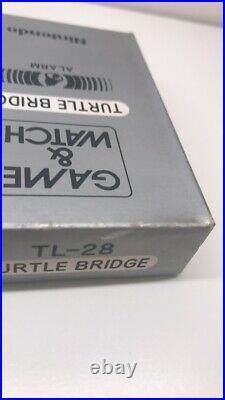 Nintendo game & watch Turtle Bridge TL-28