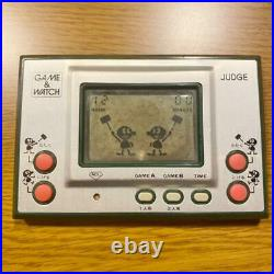 Nintendo game & watch judge silver operation confirmed vintage rare from japan