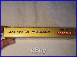 Nintendo game watch octopus wide screen OC-22